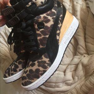 ⛄️PUMA contact wedge sneaker